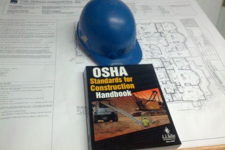 Hard hat and OSHA standards manual
