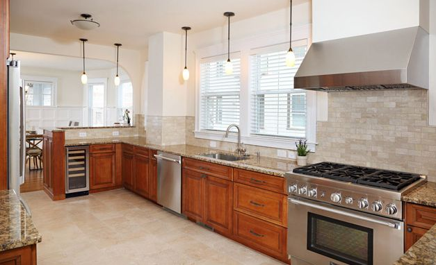 <p><span>Complete renovation to a 3000 SF Brookline condominium.&nbsp; Including three custom baths, custom cherry cabinets, new hard wood flooring, custom milled trim and oak stairs.&nbsp; Also included a basement with (3) egress wells and exterior improvements including landscaping</span></p>